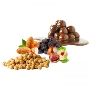 Chocolate Coated 4 Nuts Mix