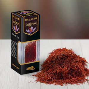Saffron Crystal Jar